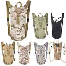 3L Portable Hydration Packs Camo Tactical Bike Bicycle Camel Water Bladder Bag Assault Backpack Camping Hiking Pouch Water Bag