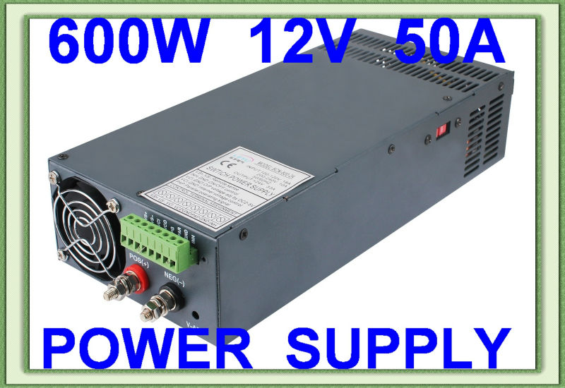 Chinese factory SCN-600-12V AC DC single output hot sell  switching power supply вибратор sex factory 12 uitra