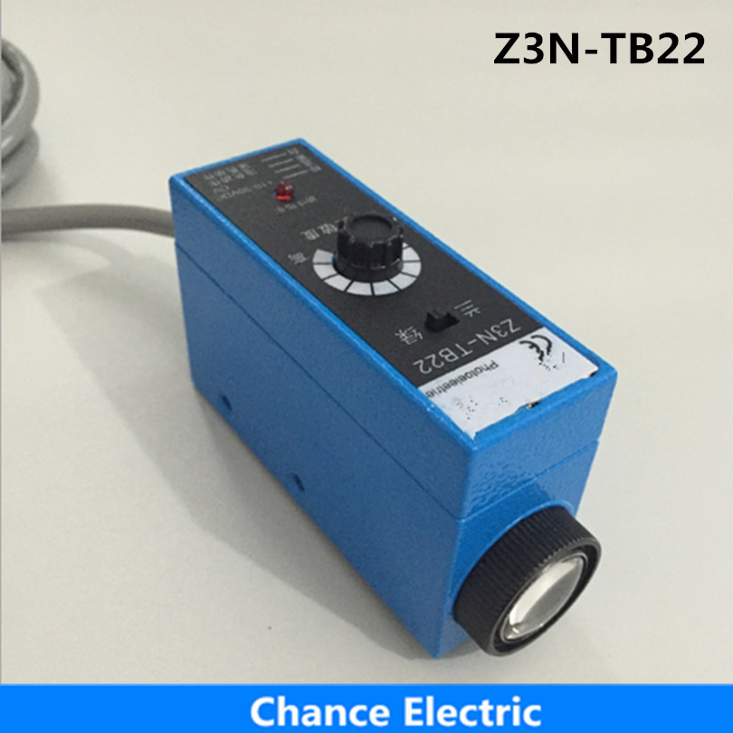 Packing Machine new detect color infrared photocell mark sensor quality guaranteed optical Switch (Z3N-TB22) new opto optical endstop end stop switch cnc optical endstop using tcst2103 photo interrupter