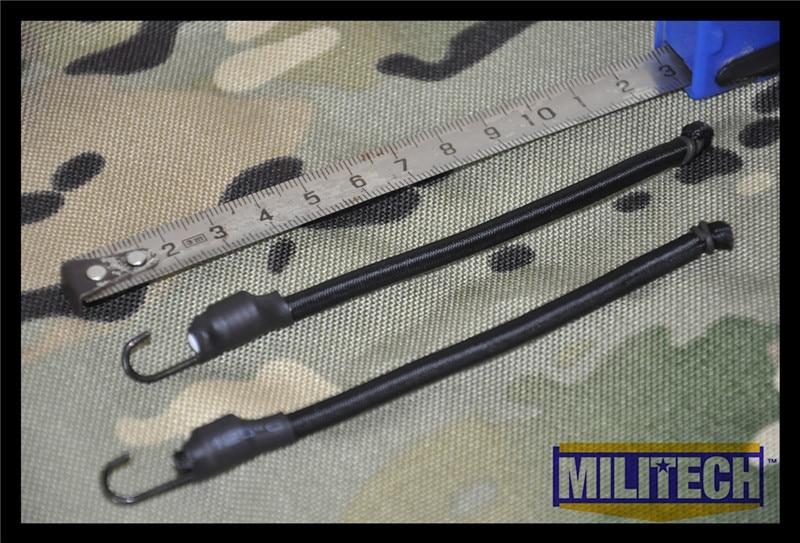 все цены на  MILITECH Black BK Color Bungee Cords With Hook For NVG Helmet Rails System MARSOC DEVGRU OPS FAST Mich ACH PASGT Gentex Helmets  онлайн