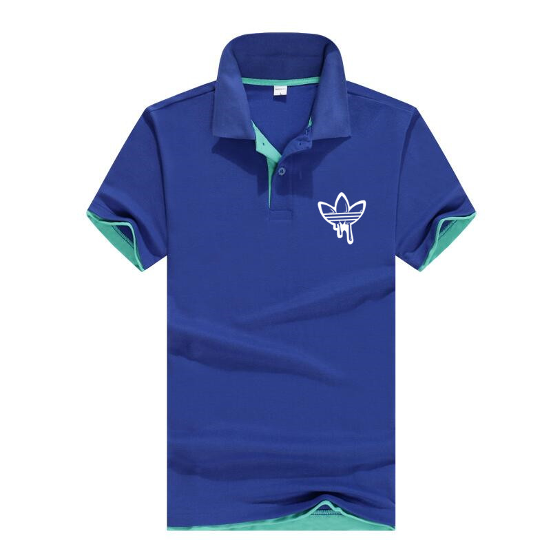 2018 Männer Polo Marke Logo Kleidung Männlich Mode Lässig Männer Polo Shirts Casual Polo T Shirt Tops Hohe Qualität Schlank Fit Top Exquisite (In) Verarbeitung
