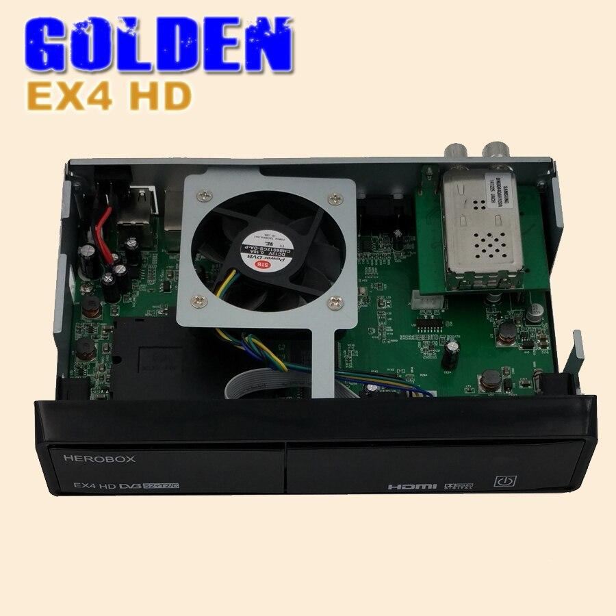 4pcs herobox ex4 hd satellite receiver support smartcard. Black Bedroom Furniture Sets. Home Design Ideas