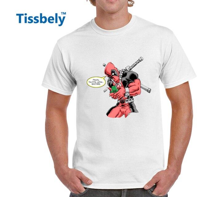 Tissbely Lustige Deadpool T Shirt Manner Spielen Psp Spiele Spass