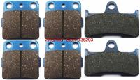 Atv Utv Semi Metallic Disc Brake Pads Set For YAMAHA YFM660 YFM 660 FWAP 4x4 Grizzly