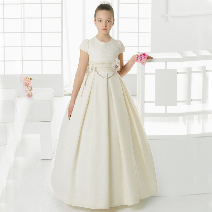 Online Buy Wholesale ivory communion dresses from China ...