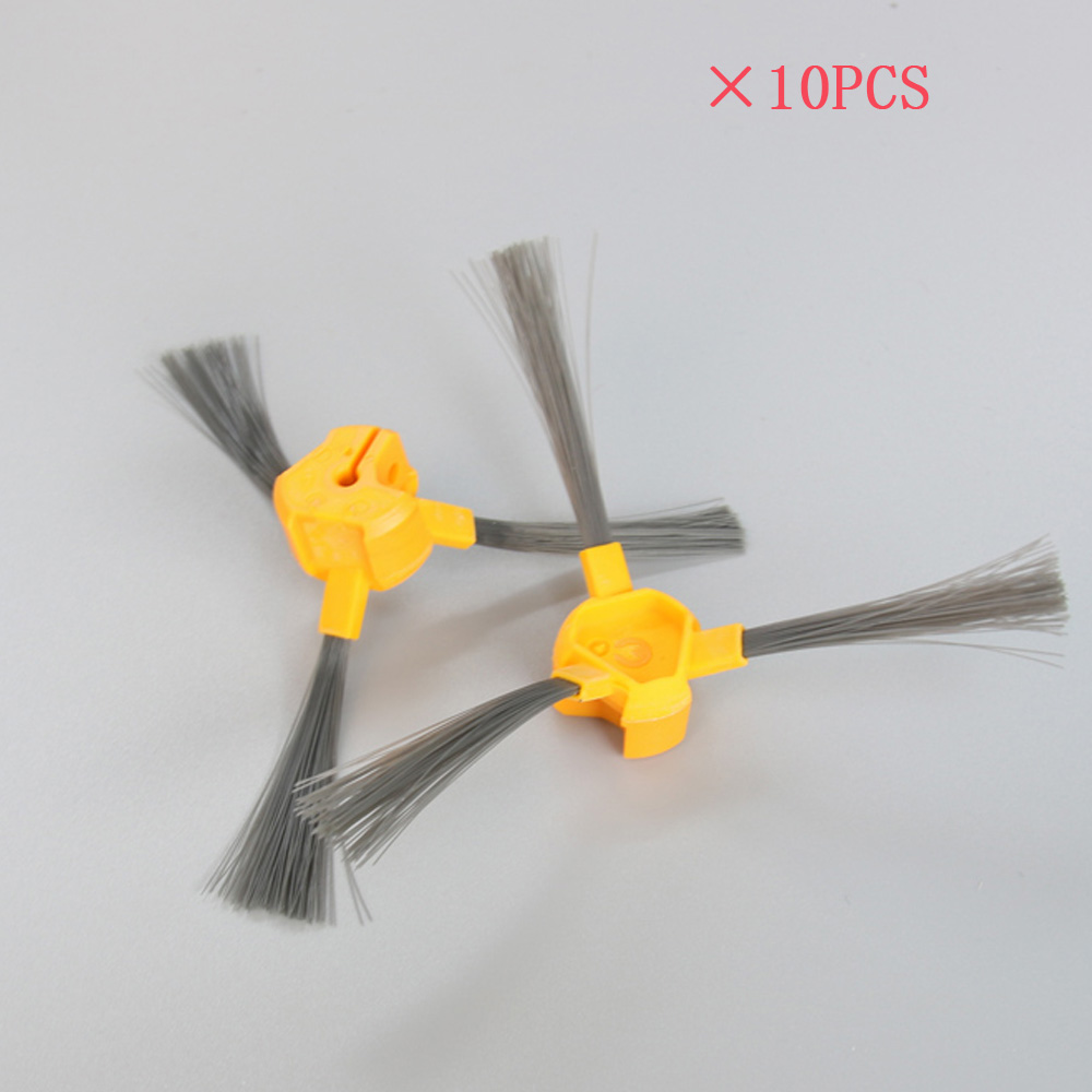 10 pcs/lot Side Brush for Ecovacs Deebot Deepoo D58 D54 D56 520 526 540 550 560 570 580 Vacuum Cleaner brush Accessories 3500mah 14 4v cleaner battery for ecovacs deebot d54 deepoo d56 d58 with free side brush