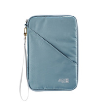 Travel Passport Bag Multi-function Document Portable Full Closure Zipper Organiser Holder