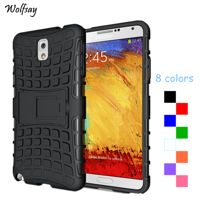 Wolfsay For Cover Samsung Galaxy Note 3 Case Silicone Mobile Phone Cases For Samsung Galaxy Note 3 Case For Samsung Note 3 Cover