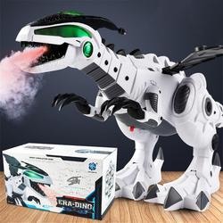 Dinosaur toys for kids White Spray Electric Dinosaur Mechanical Pterosaurs Dinosaur World Toy for boy girl 2018 new arrival