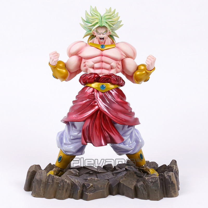 Dragon  Ball KAI Broly Limited Color Ver. PVC Figure Collectible Model Toy 26cm genuine megahouse p o p portrait of pirates excellent model limited one piece nefeltari vivi ver bb collection figure