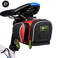 RockBros 2015 Newest Mountain Bike Bag MTB Bicycle Accessories Cycling Saddle Back Seat Seatpost Tail Bag