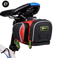 RockBros Mountain Road Bicycle Bike Bag Waterproof Bycicle Bag Cycling Rear Seat Seatpost Saddle Bags Accesorios Bicicleta Black