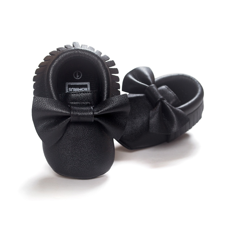 Unisex-Baby-Girls-Boy-0-18Months-Toddlers-Soft-Sole-Shoes-Tassel-PU-Leather-Crib-Bow-Shoe-First-Walkers-14-Colors-4