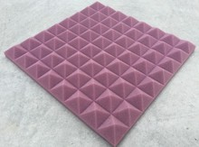 [ Fly Eagle ] Purple Soundproofing Acoustic Foam Sound Treatment Absorption Wedge Tiles Pack 12Pcs 50cm X 5cm