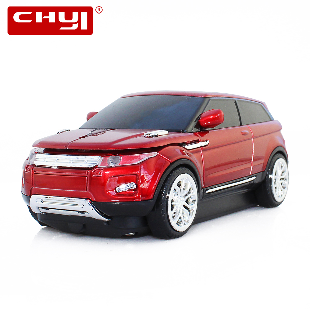 CHYI Mouse senza fili Fashion Sports Car SUV a forma di mouse Optical Mause Gaming Game 1600DPI Cool Mouse per PC Laptop Computer