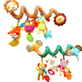 Musical Multifunctional Stroller Hanging Bell rattles baby crib mobile baby bed music Elephant Lion Educational Toys for Kids