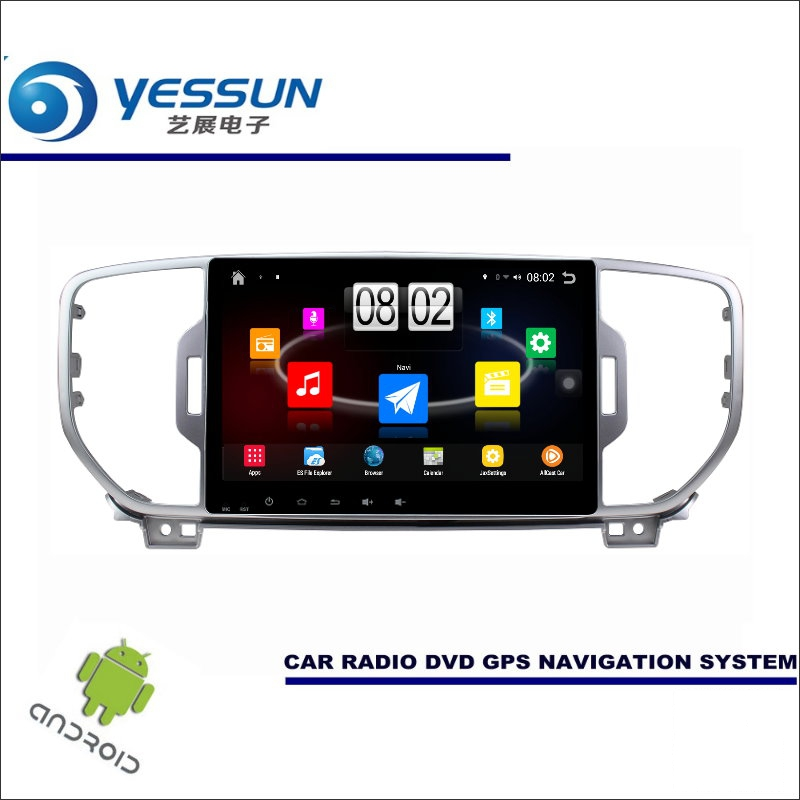 YESSUN Car Android Player Multimedia For Kia Sportage KX5 / QL 2015~2017 Radio Stereo GPS Map Nav Navi 9