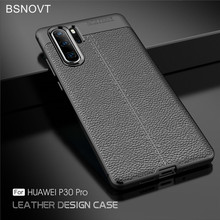 BSNOVT sFor Huawei P30 Pro Case Cover Soft Silicone TPU Leather Shockproof Phone For Fundas 6.2