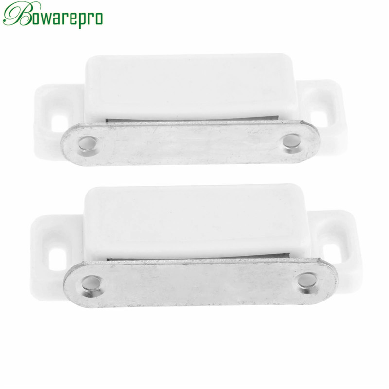2PCS Door Catches Magnets Cabinet Catches Cupboard Wardrobe Cabinet Latch Catch