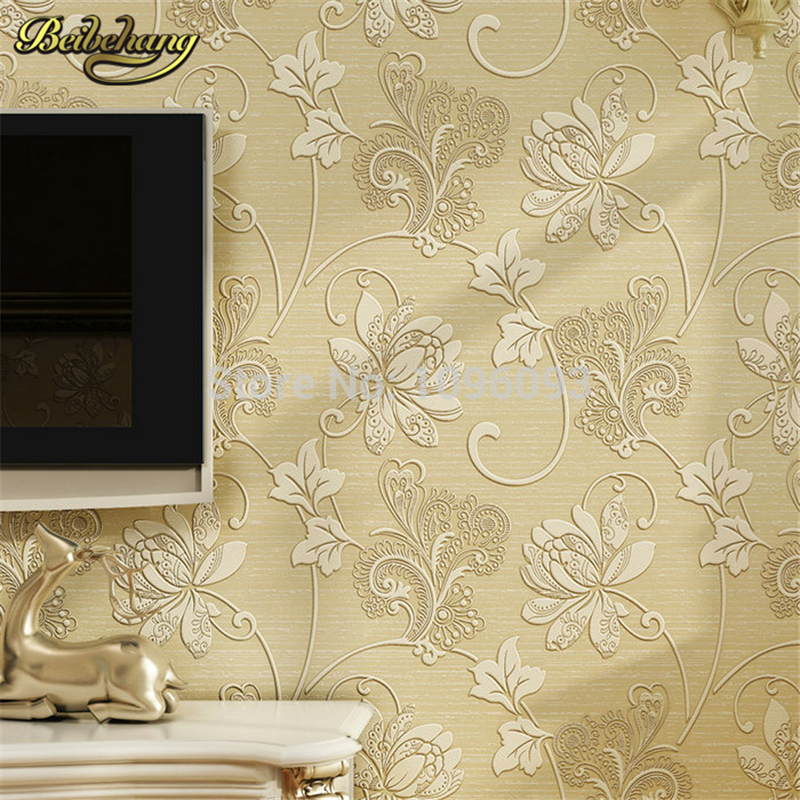 beibehang papel de parede 3d living room bedroom of wall paper roll Non Woven wallpaper for bedroom living room home decoration купить