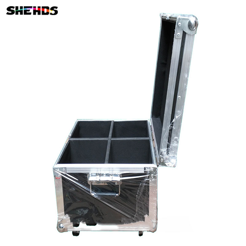 4pcs/lot with a Flight Case for 4pcs LED Par Can 54x3W Wash Stage Par Light DMX DJ Disco Show Lighting Fast Shipping