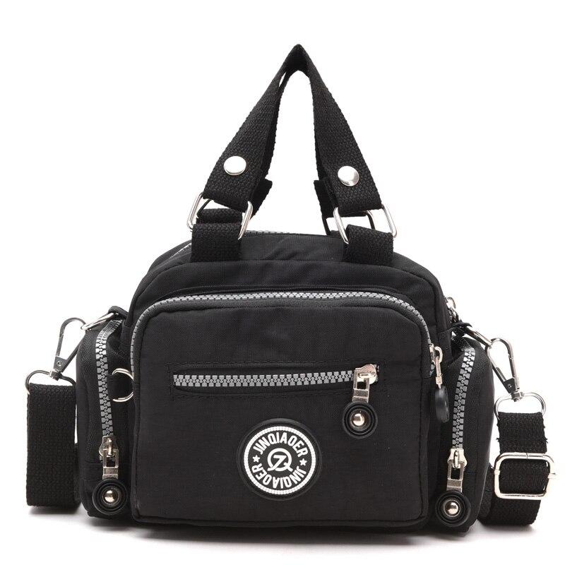 JINQIAOER bolsa feminina Women Waterproof Nylon Handbag Tote Bags Travel Design Large Shoulder Messenger Bag Brand Crossbody Bag