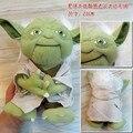 """Бесплатная Доставка Звездные войны Yoda 9 """"23 СМ Плюшевые Игрушки Косплей Костюм Мягкая Кукла ANPT004"""