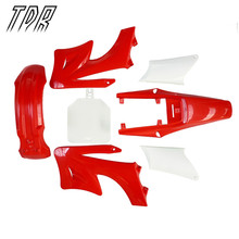 TDR Красный Apollo Orion Пластмассы Гвардии Fender Обтекатель 110cc 150cc Ндфл Pro Байк 7 ШТ. Крышек Двигателя HHY