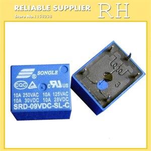 Image 5 - 50 ピース/ロットリレー SRD 03VDC SL C SRD 05VDC SL C SRD 06VDC SL C SRD 09VDC SL C 3 v 5 v 6 v 9 v 10A 250VAC 5PIN T73