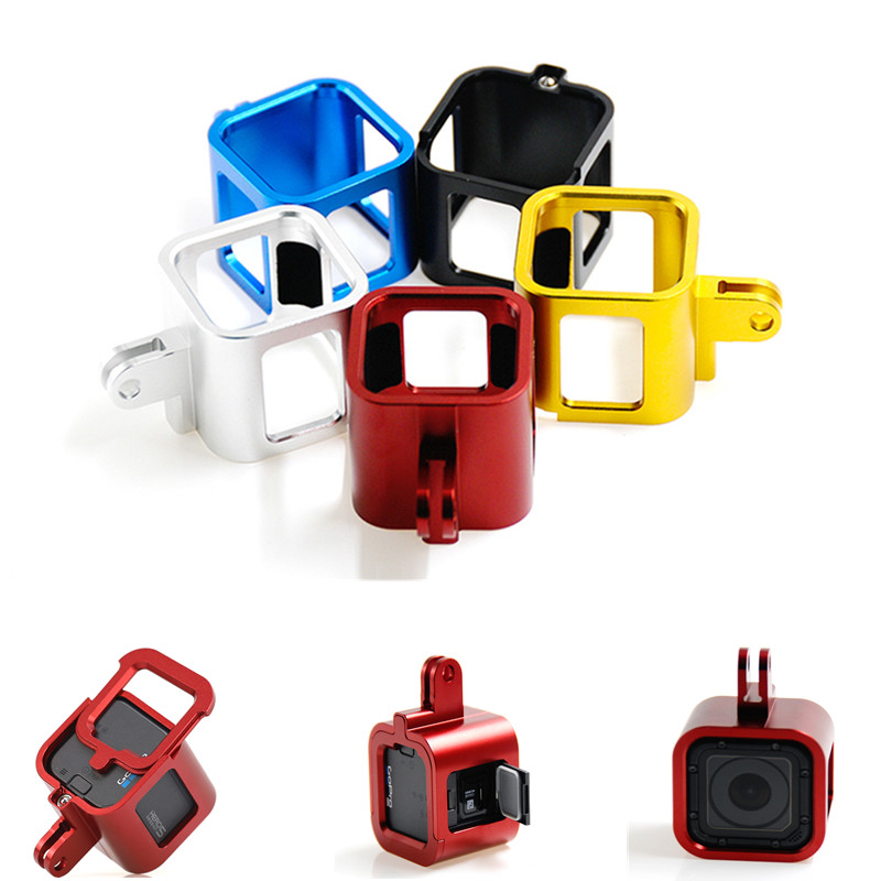 Aluminum Alloy Accessories For Gopro Hero 4 5 Session Camera Protector Frame Housing Case For Go pro hero 4 5 Session  Mount