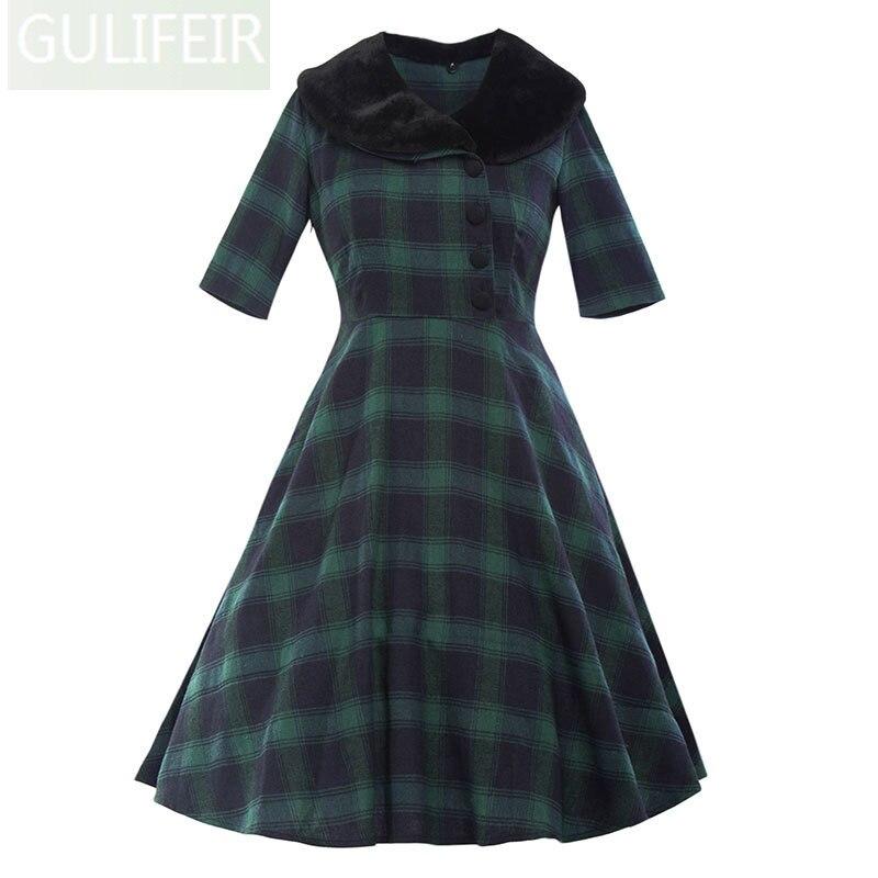 Long sleeve 60s dress 0 3