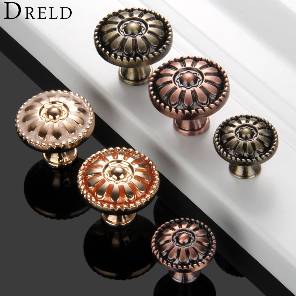 1Pc Antique Furniture Handles Cabinet Knobs and Handles Door Cupboard Drawer Wardrobe Kitchen Pull Handles Furniture Fittings luxury gold czech crystal round cabinet door knobs and handles furnitures cupboard wardrobe drawer pull handle