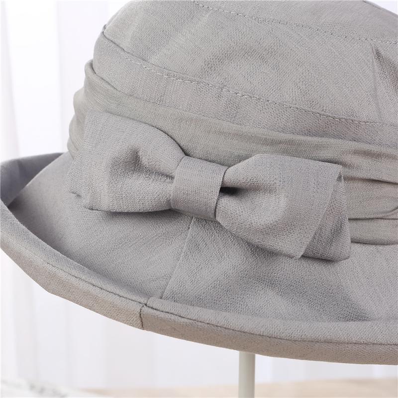 Compre XIANXIANQING 2018 Sombrero Sólido Para Mujer Sombreros Planos ... 7907f88ce285