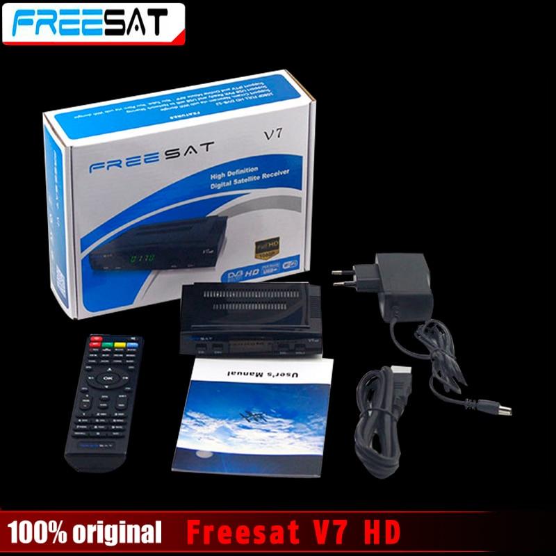 D'origine Freesat V7 HD Récepteur Satellite Plein 1080 P DVB-S2 HD Soutien Ccam powervu youpron set top box puissance vu