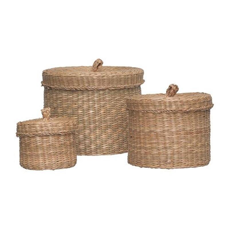 US $29.8 |Grass basket handmade storage box sundries storage baskets high quality home decoration in Storage Baskets from Home & Garden on AliExpress