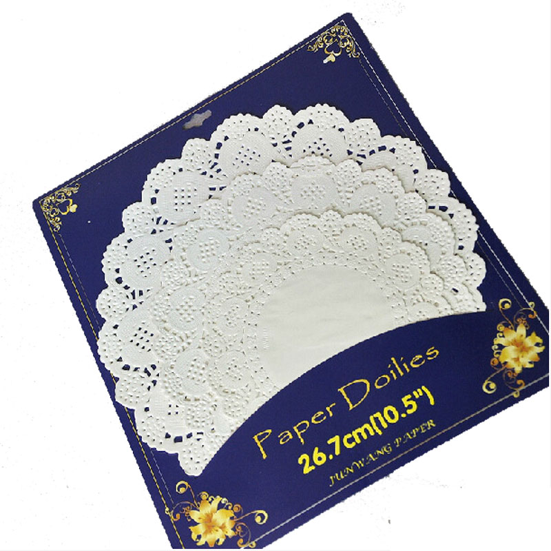 popular round paper placemats