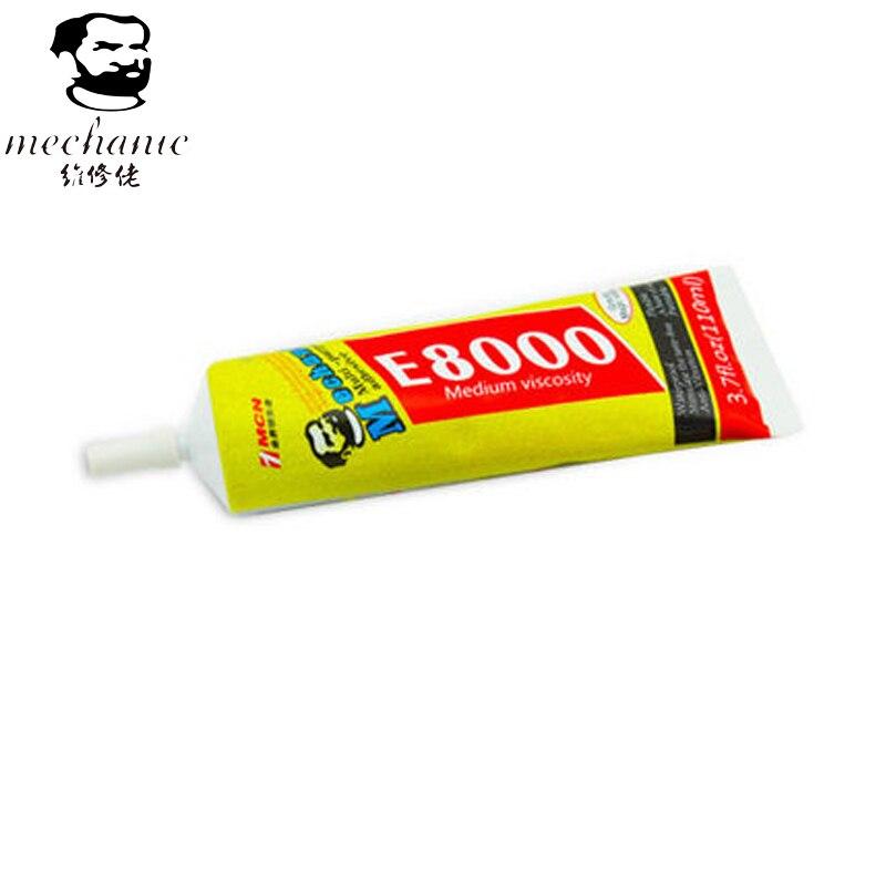 MÉCANICIEN 110 ml E8000 Colle multi-usages Adhésif Pour Bijoux Ongles En Verre Téléphone En Plastique BRICOLAGE Outils Équipement