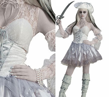 Sexy ghost bride cosplay dress halloween costumes for women white ghost costume white lace pirate cosplay  sc 1 st  AliExpress.com & Sexy ghost bride cosplay dress halloween costumes for women white ...