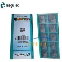 10pcs Taegutec Carbide Insert APKT1705 PER EM 0.05 CNC Milling carbide inserts