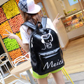 2016 Women's leather backpack children backpacks fashion backpack women back pack school bags for teenage girls New Style