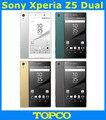 """Sony xperia z5 dual e6633 e6683 original gsm desbloqueado android octa núcleo 3 gb ram 3g y 4g 5.2 """"23MP WIFI GPS 32 GB ROM"""