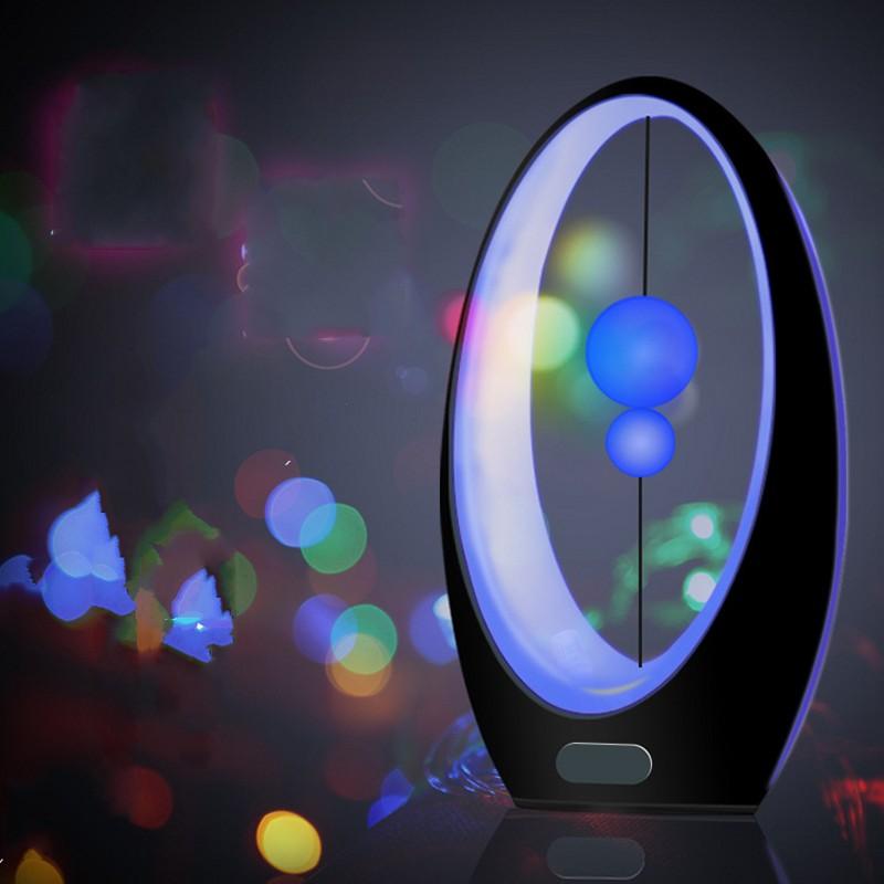 FENGLAIYI New 4 Color Human Motion Sensor Sailing Art LED Night Light Children Bedroom Bedside Lamp Children Holiday Gifts Lamp