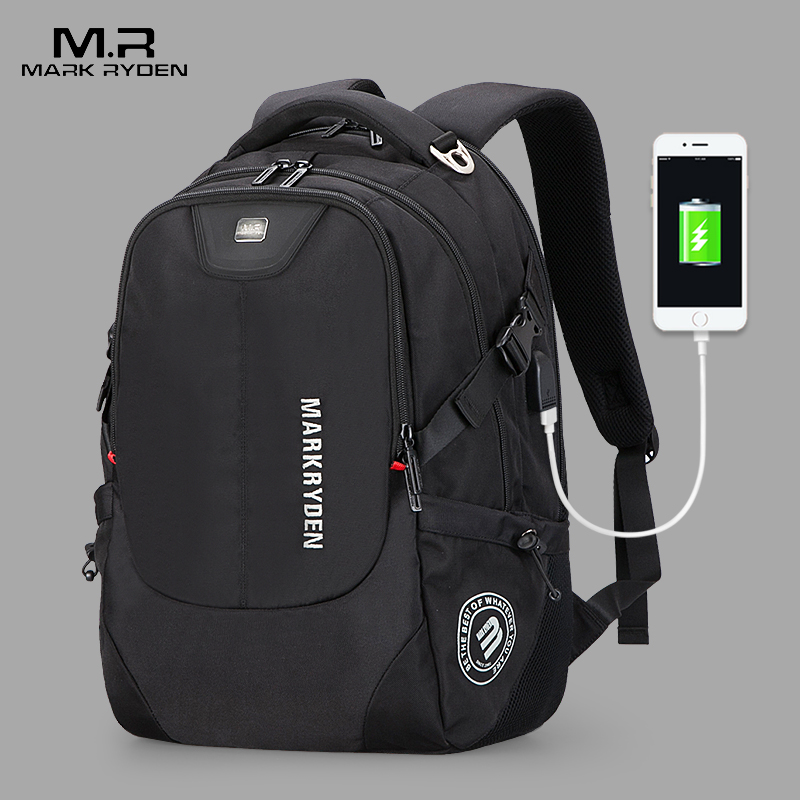 2018 New Mark Ryden Men's Backpacks Bolsa Mochila for Laptop 15 Inch 16 Inch Notebook Computer Bags Men Backpack School Rucksack