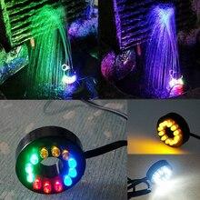 240 В 110 В Rockery Фонтан аквариум дайвинг 12 светодио дный фонари Yongquan водосветодио дный стойкие СВЕТОДИОДНЫЕ Ремесла водяные огни