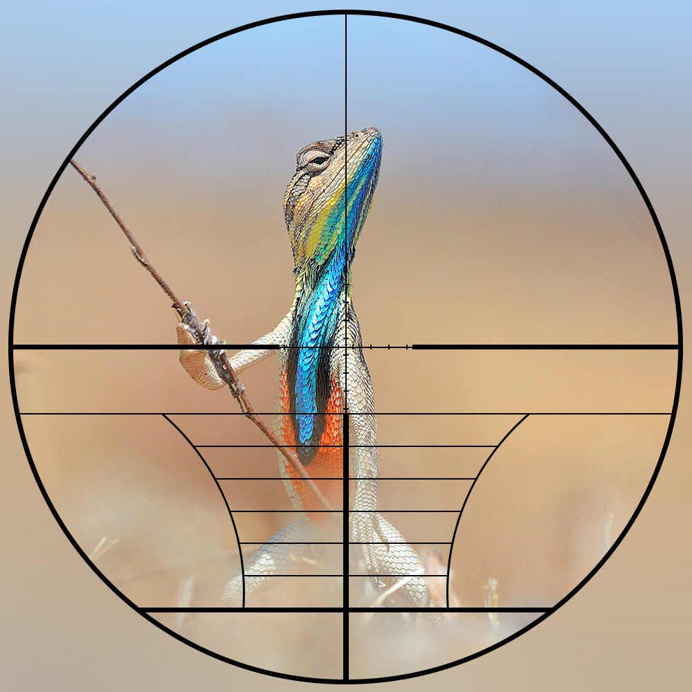 Mira telescópica para Rifle de caza de 3-9X40, telémetro de alambre, retícula cruzada o Mil puntos, mira de Rifle de retícula táctica