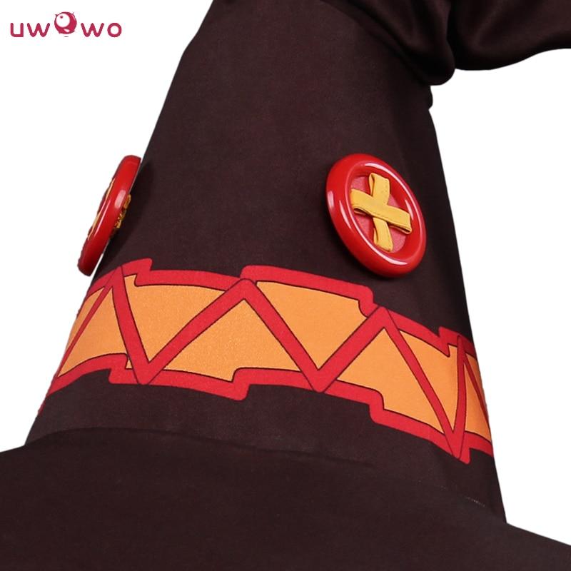 UWOWO Megumin Cosplay KonoSuba Guds välsignelse på den här - Maskeradkläder och utklädnad - Foto 3
