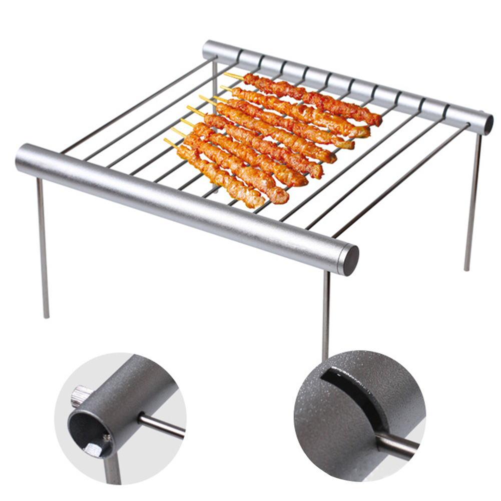 Fishing Garden Outdoor Folding Patio Portable Burner Oven Barbecue Grill Party Mini Cooking Picnic Detachable Tool Camping