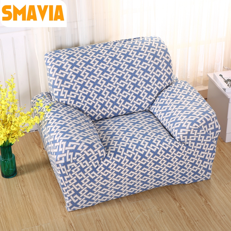 1/2/3/4 Seat 100% Polyester Elasticity Sofa Cover All Inclusive Stretch  Couch Cover L Form Slipcovers Non Slip Sofa Towel