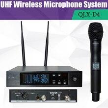 740-765/606-630Mhz Digital Wi-fi Microphone System MICROPHONE SYSTEM True Range UHF Cordless MIC QLXD4 Mikrofon microfono