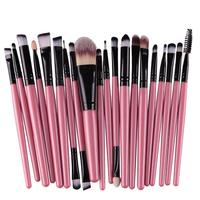 Hot Sale 	Professional 20pcs/set Makeup Brushes Sets tools Make-up Toiletry Kit Wool Make Up Beauty Cosmetic Fashion Brush Set Eye Shadow Applicator